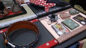 06高田織物ブース商品